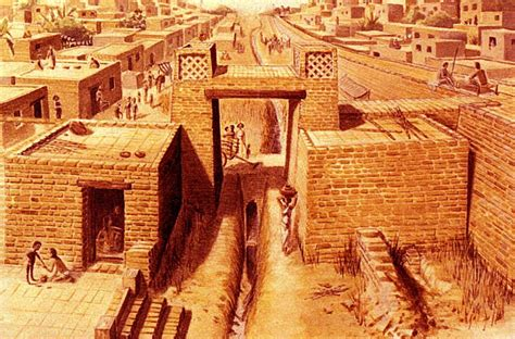 grid pattern ng indus 40 important facts about the indus valley civilization