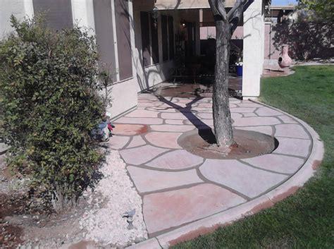Small Flagstone Patio by Flagstone Patio 2 Arizona Living Landscape Design