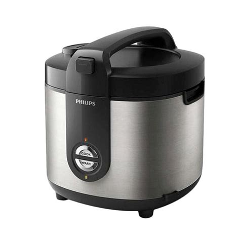 Rice Cooker 2l Philips Hd3128 Jual Philips Rice Cooker Stainless 2l Hd3128 Silver