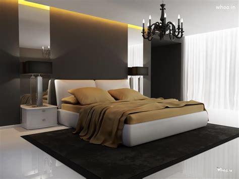 vip bedroom  dark wall interior design