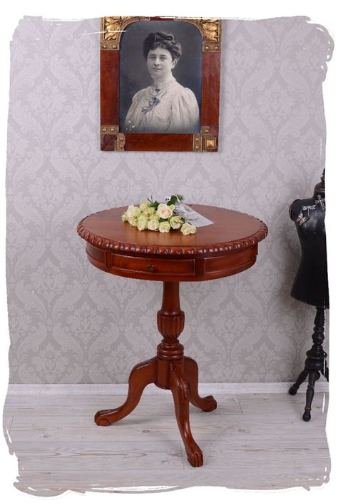 round table phone round table with drawers mahogany wood small table