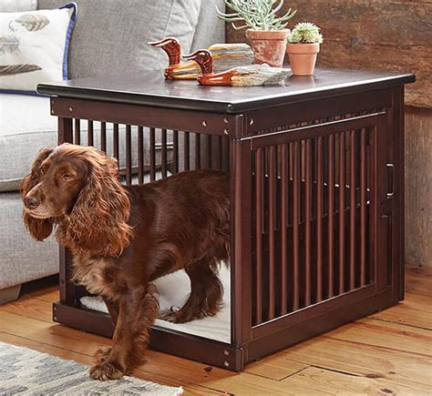 coolest dog crates disguised  stylish furniture