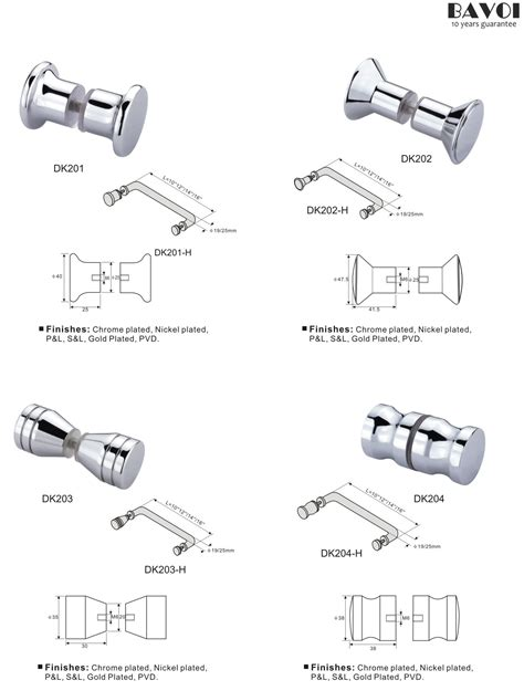 Door Knob Manufacturers by Shower Door Knob Manufacturers For Bathroom Dk201 Dk202