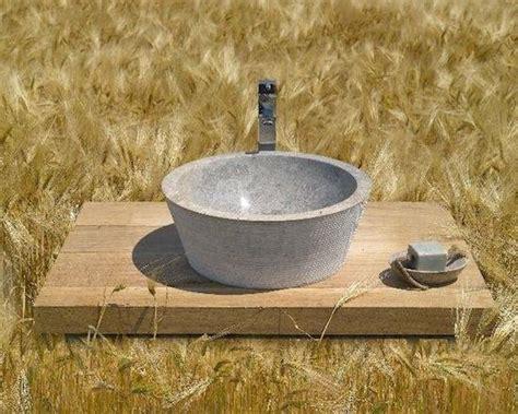 lavabo per giardino lavabo da appoggio accessori da esterno
