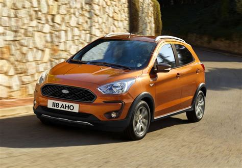 ford crossover 2018 ford ka revealed active crossover added