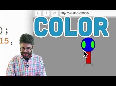 Js 2 Color p5 js tutorial 1 2 color