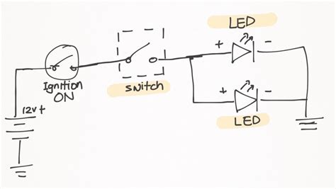 wiring diagram for auxiliary lights how to wire offroad