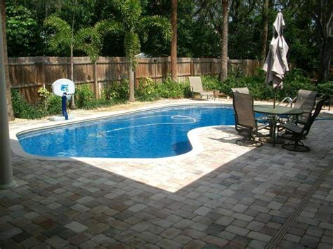 pool in backyard cost small backyard pools cost best small backyard pools