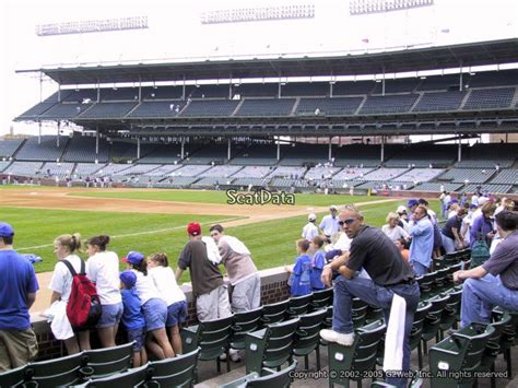 section 8 chicago wrigley field section 8 chicago cubs rateyourseats com