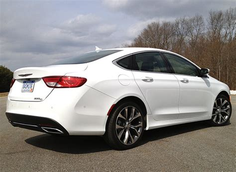 2015 Chrysler 200 S Review by 2015 Chrysler 200 Review Midsized Sedan Consumer