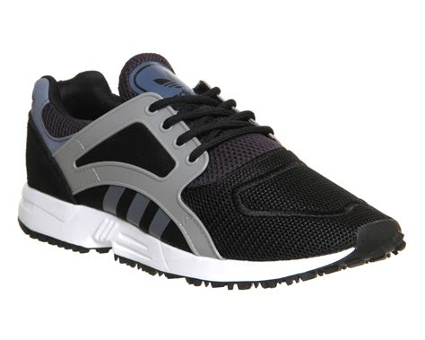 adidas lite racer black mens adidas racer lite core black onix trainers shoes ebay