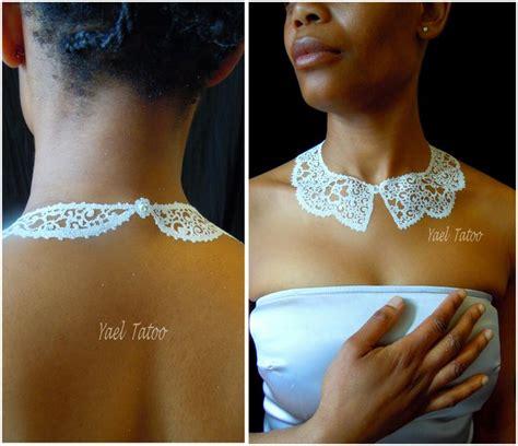 Whats Up With The Henna On Halles by 21 Best Les Tatouages Collier 224 La Poudre De Diamant