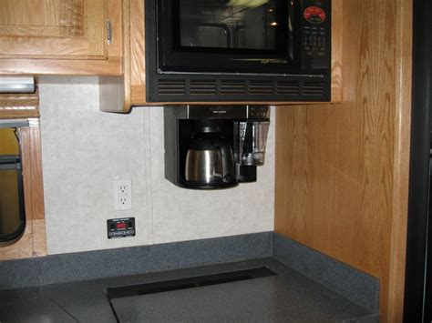 under cabinet coffee maker rv rv coffee maker cabinet counter coffee maker save space