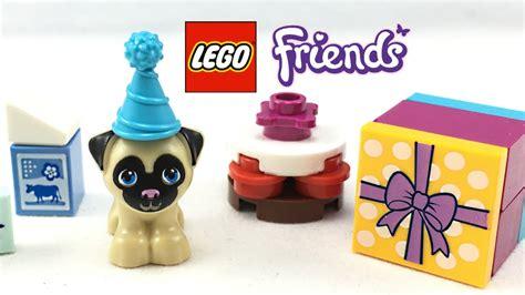 lego pug lego pug set lego friends cakes set review 41112