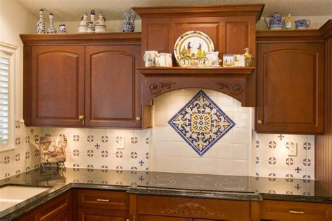 hand painted tiles for kitchen backsplash hand painted tile backsplash my future home ideas