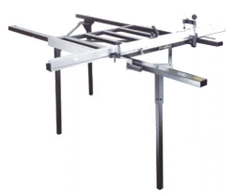 excalibur sliding table saw fence survey of sliding table attachments