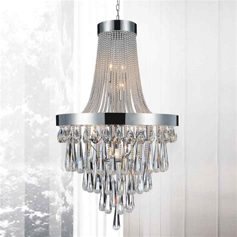 Large Chandeliers For Foyer Brizzo Lighting Stores 42 Quot Liberale Modern Large Foyer Chandelier Polished Chrome