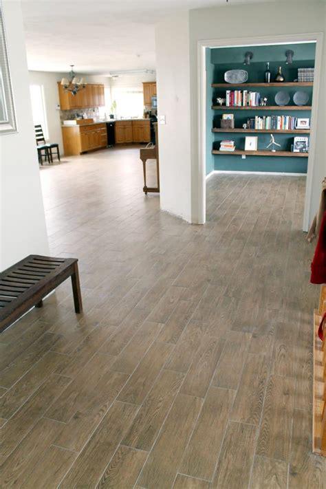 faux wood tile    chris loves julia