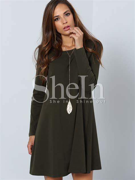 Cansual Drees sleeve casual dress shein sheinside
