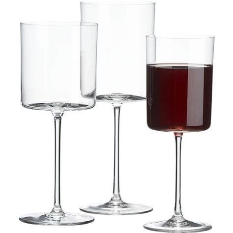 modern wine glasses edge wine glasses