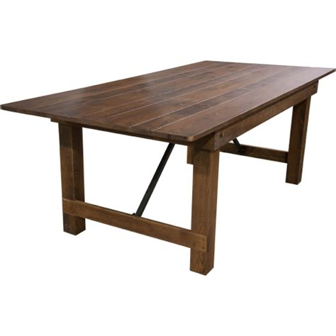 wooden folding bench 40x84 barn wood brown farmhouse table wooden folding