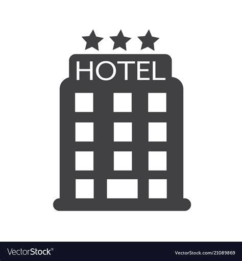 hotel clipart hotel icon royalty free vector image vectorstock