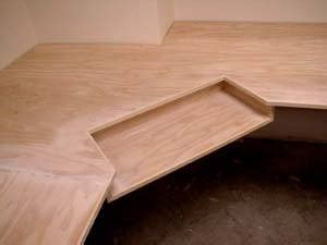 Plywood Corner Desk Pdf Diy Plywood Corner Desk Plans Project Plans Furnitureplans