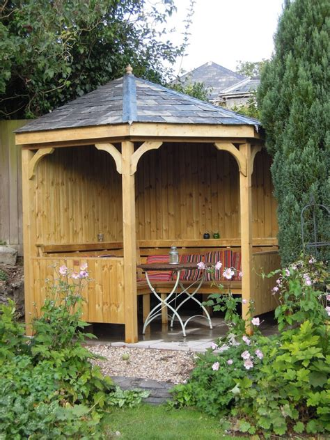 Wooden Arbour Corner Seating Arbour The Wooden Workshop Oakford