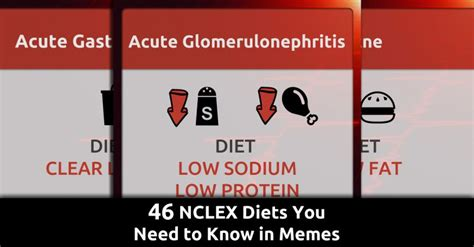 Nclex Meme - 46 nclex diets you need to know in memes qd nurses
