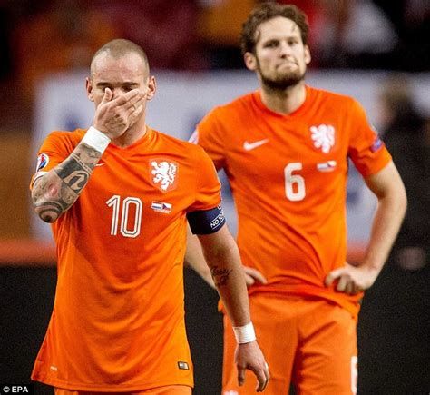 Blind Football World Cup Wesley Sneijder On Holland S Euro 2016 Nightmare I Am