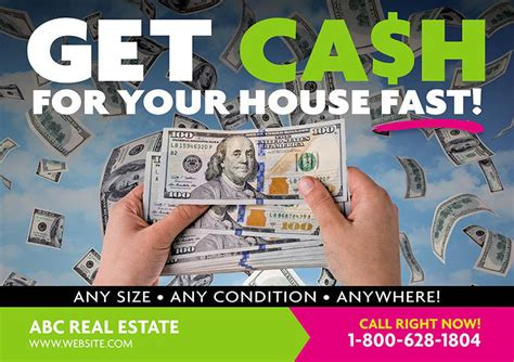 126 Genius Real Estate Postcard Mailers You Should Steal We Buy Houses Postcard Template