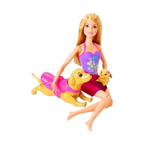 Baju Doll Boneka Original Mattel 97 jual puppy swimming pup pool w doll original