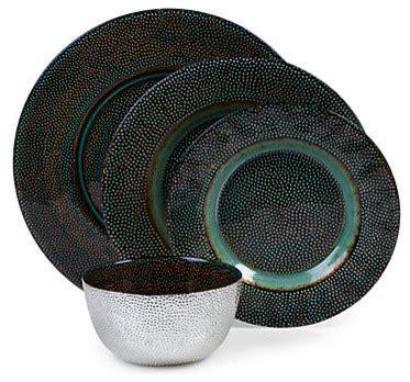 Dinner Set Modern Grey verdi dinnerware set of 4 modern dinner plates by