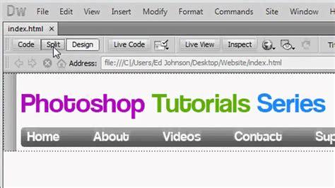 tutorial header website photoshop website design tutorial 2 formatting the