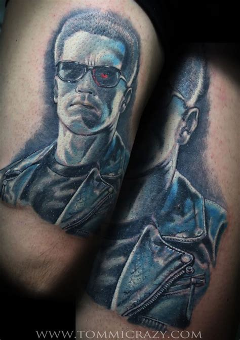 terminator tattoo 72 best terminator tattoos images on