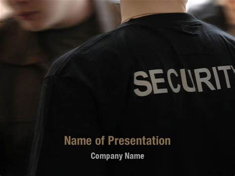 ppt templates for security free download security officer powerpoint templates security officer