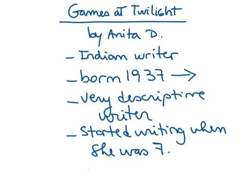 themes in games at twilight by anita desai analysis of quot games at twilight quot by anita desai