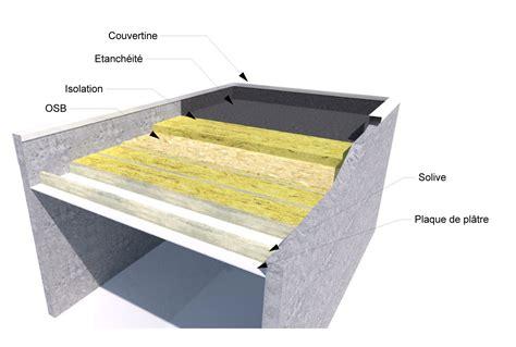 comment faire un toit plat 743 charmant faire une dalle de beton pour garage 15 toit