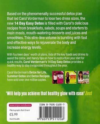 Carol Vorderman S Detox Recipes With Bean by Carol Vorderman S 14 Day Easy Detox By Carol Vorderman