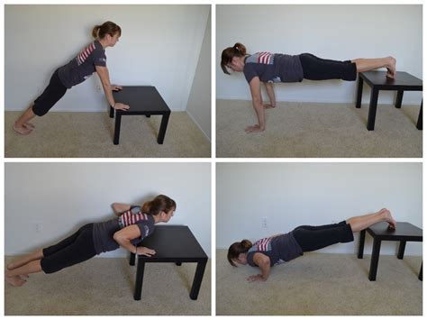 bench exercises at home home workouts 10 moves you can do with an ikea table