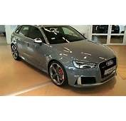 2015 Nardo Grey Audi RS3 In Detail Red Stiches Calipers