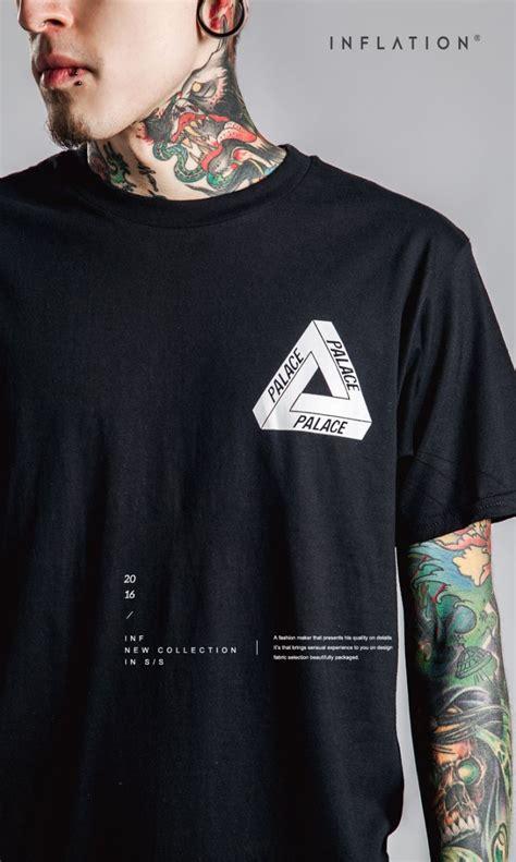 Kaos Katun Pria Triangle Palace O Neck Size S T Shirt Berkualitas kaos katun pria triangle palace o neck size s t shirt