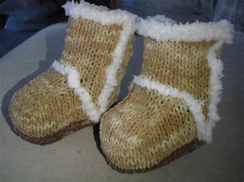 knitting pattern ugg boots free baby booties ugg boots knitting pattern