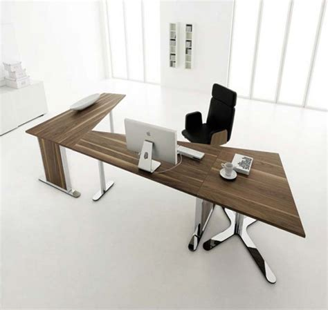 cool modern home office desks in home interior redesign