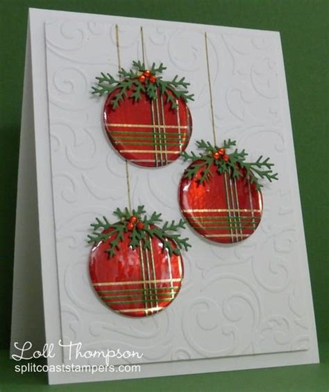 ct0114 wrapped ornaments more by loll thompson cards