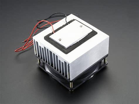 peltier heat sink unit peltier thermo electric cooler module heatsink assembly