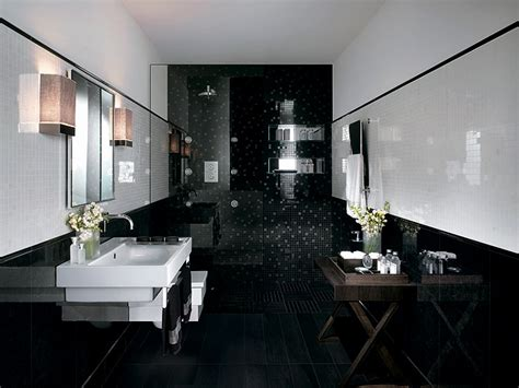 black glitter bathroom 29 black bathroom tiles with glitter ideas and pictures