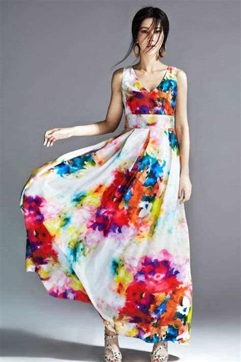 Baju Drees Pantai dress cantik korea asli dress pantai maxi dress floral korea baju korea baju