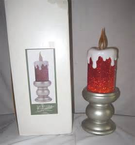 christmas candle lava l seasons of cannon falls 12 quot christmas candle glitter lava