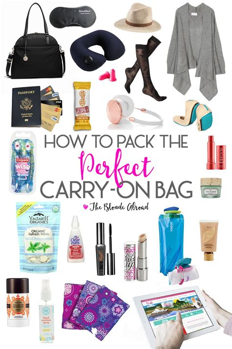 Top 10 Things For Your Bag by The Ultimate Carry On Packing Guide The Abroad